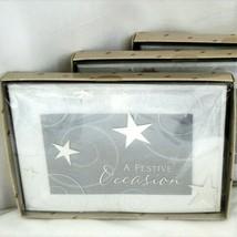 Hallmark A Festive Occasion Party Invitations Box of 10 NEW Silver New Y... - $9.49