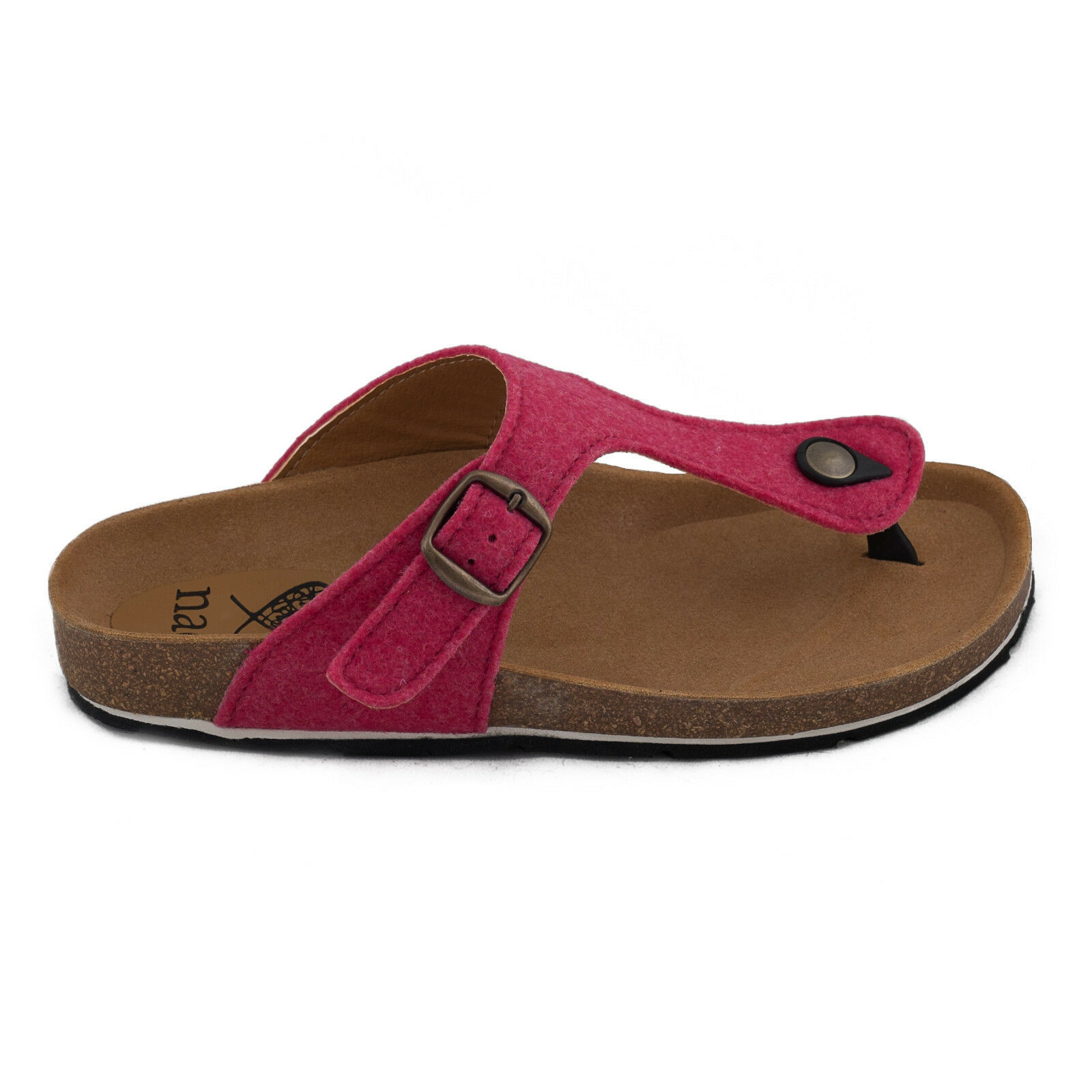 Primary image for Flip-Flop Tongue Sandal Vegan recycled bottles woman Flat NAE Casual Beach Soft