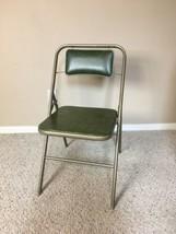 Samsonite Folding Chair Vintage Mid Century Style 4818 06/80 Green - $60.00