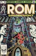 (CB-15} 1983 Marvel Comic Book: ROM #38 - $5.00