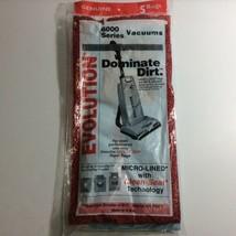 OEM Genuine Evolution 6000 Series Pack Of 3 Vacuum Cleaner Bags Lot Of 3... - $9.46