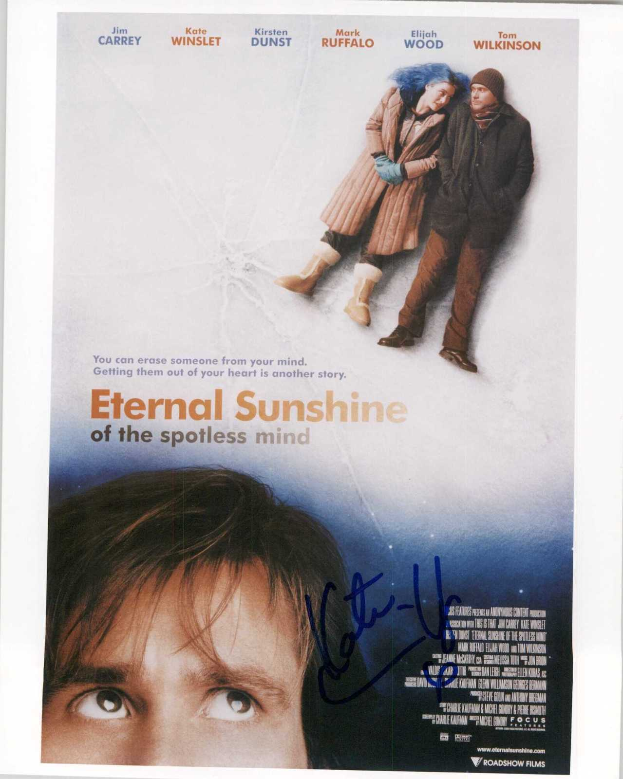 "Primary image for Kate Winslet Signed Autographed ""Eternal Sunshine of the Spotless Mind"" Glossy 8"