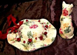 Ceramic Hat and Kitten Set AA18-1250 Vintage CANADA image 6
