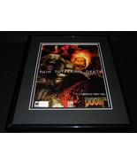 Doom 3 2004 Playstation 2 PS2 Framed 11x14 ORIGINAL Advertisement - $34.64