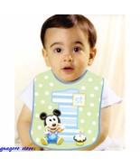 Mickey Mouse |1st Birthday | Bib Boy Green Polka Dot Party Decorations - $9.49