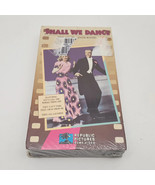Shall We Dance Fred Astaire Ginger Rogers Republic Pictures VHS Sealed - $3.88