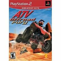 Atv Offroad Fury PS2 - $7.91
