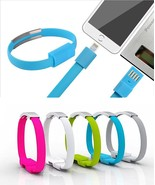 Wrist Band Bracelet Fast USB Charger Cable, Bestga Wearable Wristband US... - $2.99