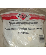 FSP 3363394 Washer Water Pump-Genuine Whirlpool OEM - $22.50