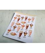 Old Soda Fountain Sticker Sheet - $3.50