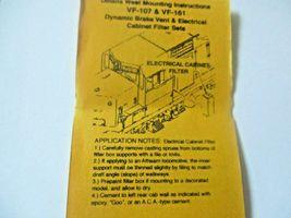 Details West # VF-107 Dynamic Brake Vent & Elect Cabinet Filter HO-Scale image 3