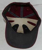 Richardson Contrast Stitching Maroon Charcoal Style 275 Baseball Hat Adjustable image 6