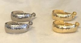 vintage capri earrings - $5.94