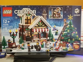 LEGO Creator Winter Toy Shop (10249) Brand New Christmas Building - $89.10