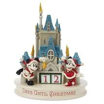 Disney Parks Santa Mickey & Minnie Christmas Countdown Calendar Castle F... - $75.74