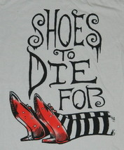 The Wizard of Oz Shoes To Die For Women's Baby Doll T-Shirt NEW UNWORN - $14.50