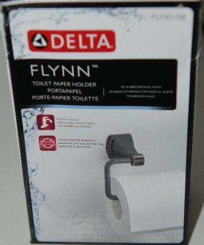 DELTA FLY50 OB Flynn Toilet Paper Holder Oil Rubbed Bronze Finish Package 1