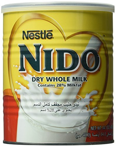 Nestle Nido Milk Powder, Imported, (400 gm), 14.1 Ounce Can Europe