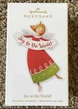 Hallmark Keepsake Joy To The World Angel Christmas Ornament New - $9.89