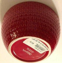 Pfaltzgraff Holiday Merry Christmas Snowflakes Red Soup Cereal Bowl 6 in. New - $22.76