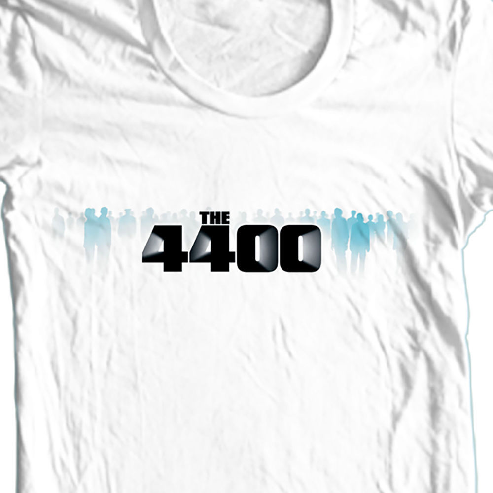 4400 tshirt science fiction tv series graphic tee sci fi white tshirt