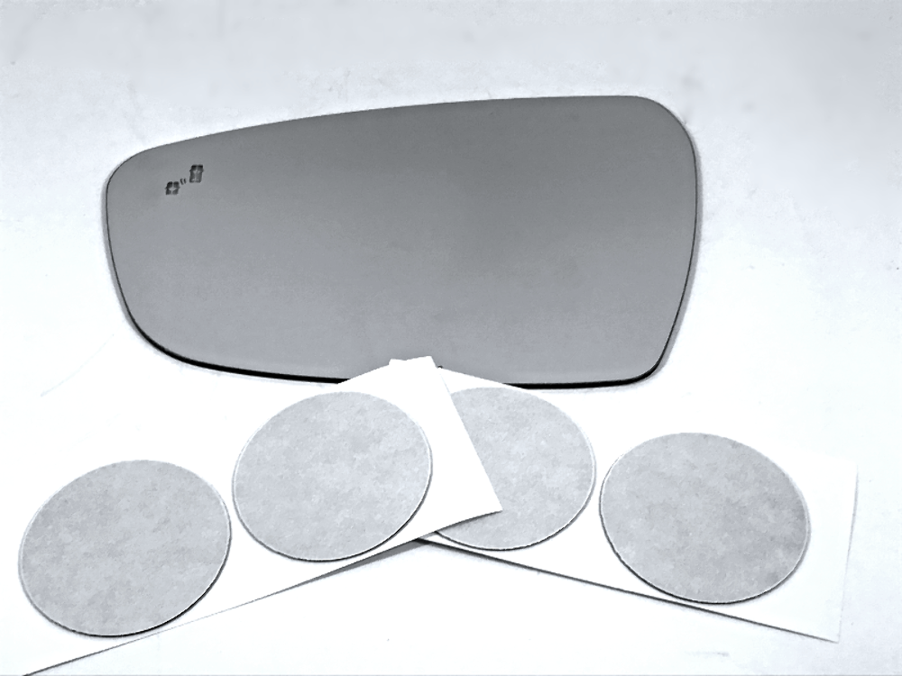 Primary image for Fits 17-18 Kia Forte Left Driver Mirror Glass Lens w/ BlindSpot Crosspath Icon*