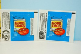 Pair of 1975 Topps Good Times Television Show Wax Pack Wrappers Dyn-O-Mite! - $9.99