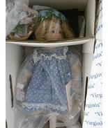 "The Hamilton Collection Virginia by Bessie Pease Gutmann 11"" Bisque Porc... - $59.39"