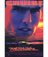 DAYS OF THUNDER ORIGINAL 27x40 MOVIE POSTER tom cruise - $23.00