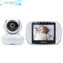 "Motorola MBP33XL 3.5"" Video Baby Monitor with Digital Zoom, Two-Way Audi... - $74.94"