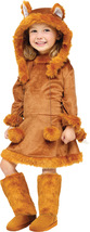 SWEET FOX Girl's Halloween Costume , Toddler 3T-4T , Free Shipping - $39.95