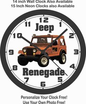 1985-1986 JEEP RENEGADE WALL CLOCK-DODGE, FORD CHEVROLET - $28.70+
