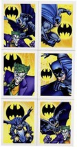 Batman Dark Knight Party Favors Stickers 4 Sheets Per Package Birthday S... - $3.91