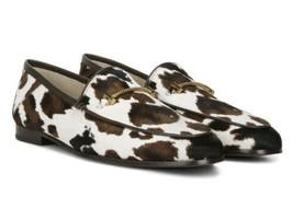 Sam Edelman Lior Cow Print Calf Hair Loafer 9.5 NWB - $59.39