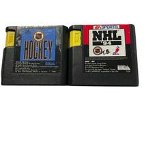 Sega 16 but NHL Hockey games (2) - $9.49