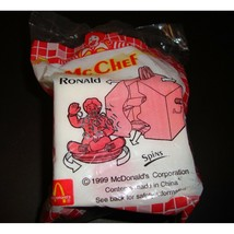 McDonalds Hong Kong Ronald McDonalds McChef Happy Meal Toy 1999 - $22.00