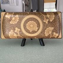 Sousaku Japan SOUND COLLECTION Sushi Tray (Floral & Scrolls) - $21.78
