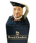 Royal Doulton Toby Mug 1975 Henry VIII Character Jug Limited 1975 England - $26.69