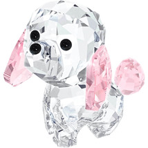 Authentic Swarovski Puppy Rosie The Puddle Crystal Figurine - $73.87
