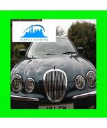 1999-2006 JAGUAR S-TYPE S TYPE CHROME TRIM FOR GRILL GRILLE W/5YR WARRANTY - $26.99