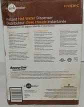 Insinkerator H VIEW C Instant Hot Water Dispenser Chrome image 10