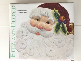 Fitz & Floyd Christmas Santa Canape Plate ~ In Original Box ~ BRAND NEW - $12.61