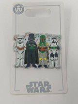 Star Wars Darth Vader Boba Fett Storm Trooper Christmas Caroling 2020 Di... - $19.79