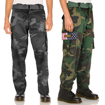SW Men's Tactical Combat US Force Military Army Cargo Pants Trousers with Belt