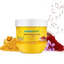 Mamaearth Ubtan Body Scrub with Turmeric & Saffron for Tan Removal – 200 g - $22.39
