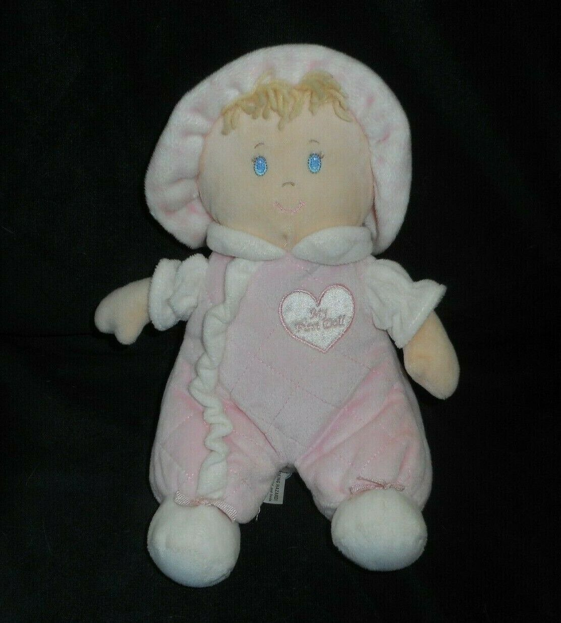 "10"" FIRST IMPRESSIONS MY FIRST BABY DOLL PINK STUFFED ANIMAL PLUSH TOY LOVEY - $23.38"