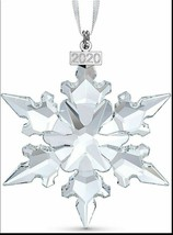 Swarovski Ornament 2020 Christmas Tree  Window Hanging Decoration Clear Annual - $51.15