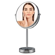 OVENTE 8-Inch Tabletop Magnified Vanity Makeup Mirror, Dual-Sided 1X/7X,... - $32.40