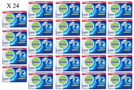 24 x Dettol ACTIVE Anti-Bacterial Hygiene Hand and Body Bar Soap 12H 105... - $26.49