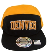 City Hunter Denver 5-Panel Men's Adjustable Snapback Baseball Cap Black/... - $9.95